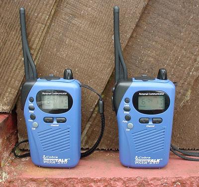 Cobra Microtalk 250 PMR-446 Radios