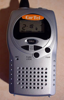 RS-446 PMR-446 Radio - Close Up