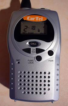 RS-446 PMR-446 Radio - Close Up
