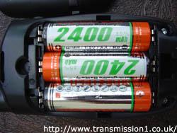 XTL446 using AA Batteries