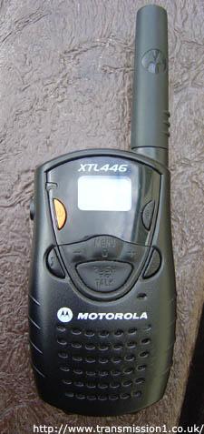Motorola XTL446 Radio