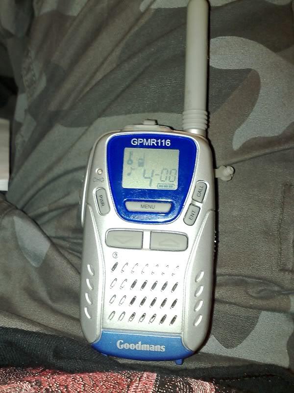 Goodmans GMPR116 PMR-446 Radio