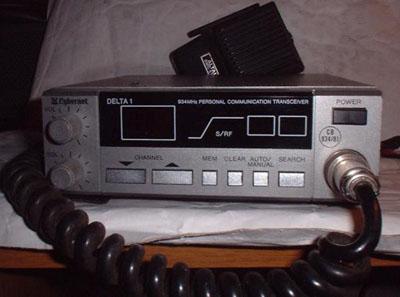 Cybernet Delta 1 UHF CB Radio