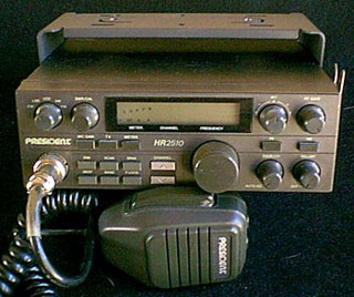 The HR2510 variant of the President Lincoln Radio