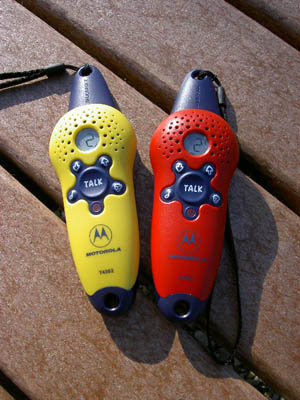 Motorola T4302 Two Way Radios