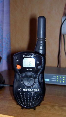 Motorola T6222 PMR-446 Radio