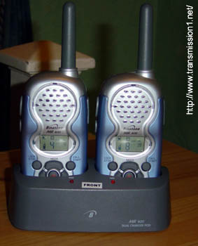 Binatone MR-600 Radios in Charger