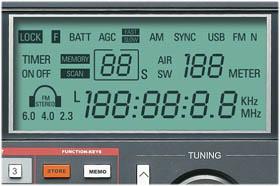 Grundig Satellit 800 LCD display