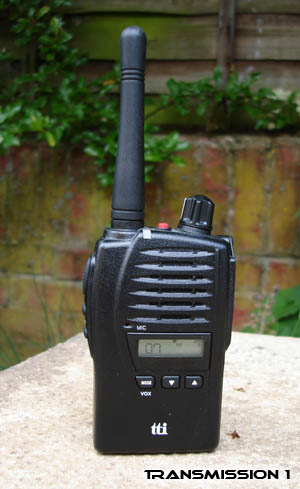 TTi TX-1446 Professional PMR-446 Radio
