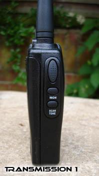 TTi TX-1446 PTT Button