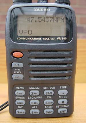 Yaesu VR500 Scanning Receiver