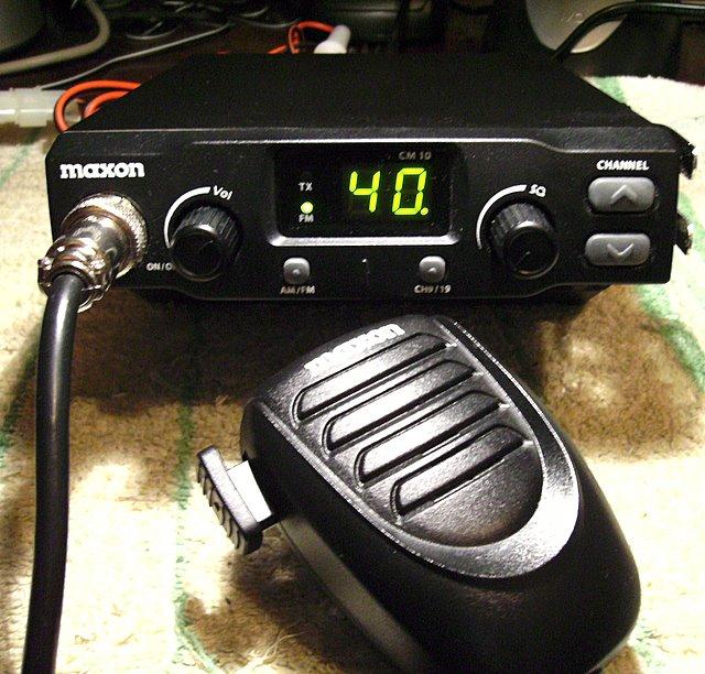 Maxon CM10 CB Radio