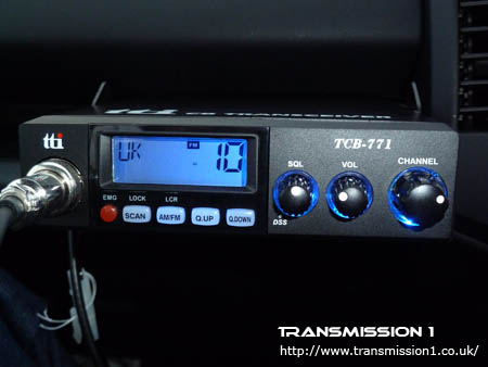 The TCB-771 has great night time illumination and can also be dimmed using the menu options.