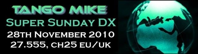 DX Super Sunday Nov 2010