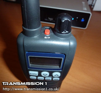 TSC-100R Power Button and Rotary Controls