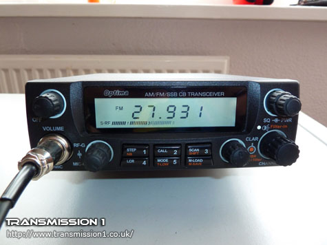 Yeticom Optima SSB CB/Ham Radio Review