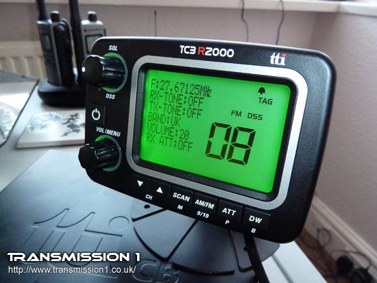 TTi TCB-R2000 Multi Standard CB Radio