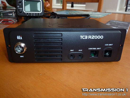TCB-R2000 Black Box (the main part of the transceiver)