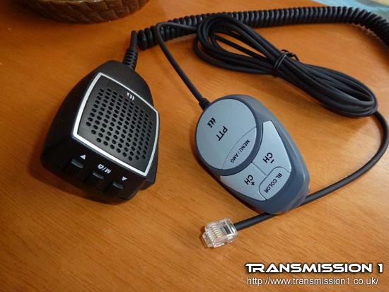Standard and Remote Microphone