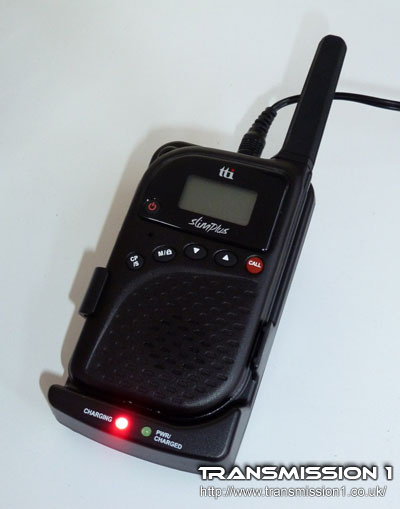 TTi PMR-506TX in the drop-in charger