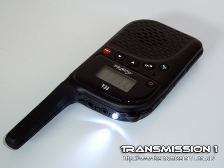 TTi PMR-506TX with LED torch