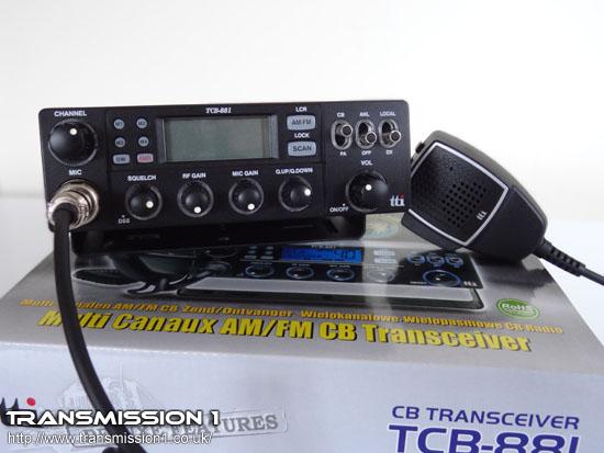 TTi TCB-881 Box and Radio