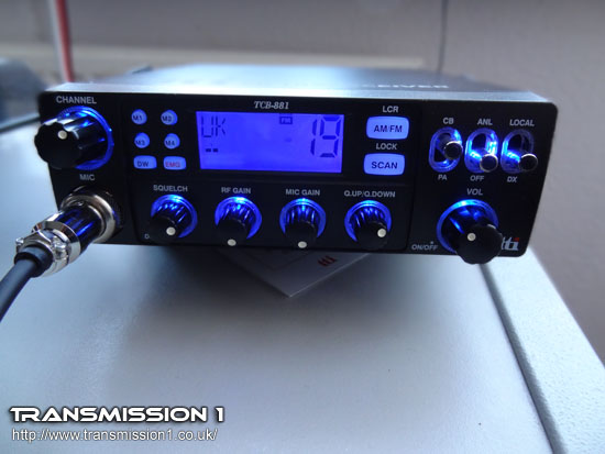 TTi TCB-881 Multi Standard CB Radio Review